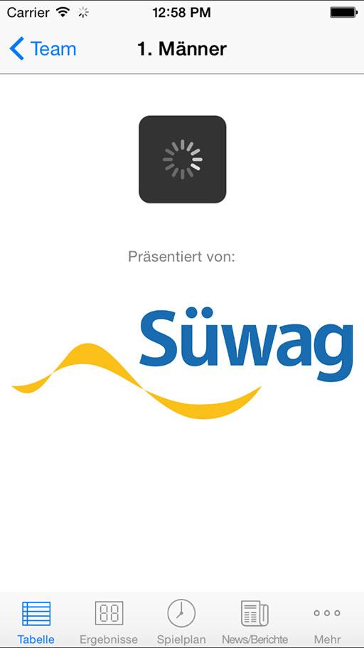 Handball-App TSG Münster iOS