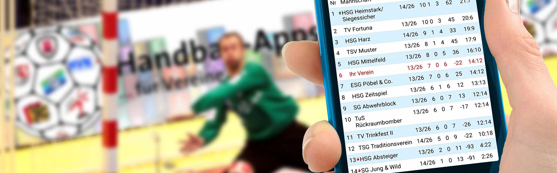 Die Handball-App